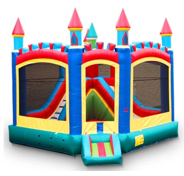 Slide and Bounce House